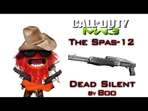 Silent Spas-12 Gameplay | Dead Silent - Modern Warfare 3