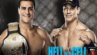 John Cena vs Alberto Del Rio Hell In A Cell 2013 (HD)