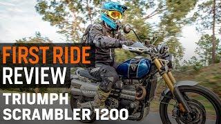 Triumph Scrambler 1200: Spurg's Naked Adventure