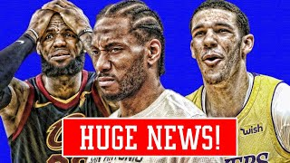 download musica CAVS GOING AFTER KAWHI SHAQ TELLS LEBRON NOT TO RING CHASE LAKERS PRAISE LONZO NBA NEWS