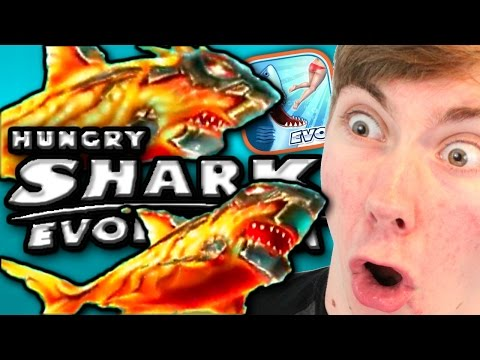 LAVA BABY SHARK - Hungry Shark Evolution (iPhone Gameplay Video)