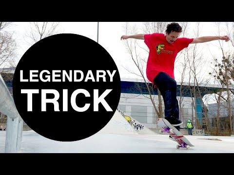 Gazelle Underflip | Impossible Tricks Of Rodney Mullen