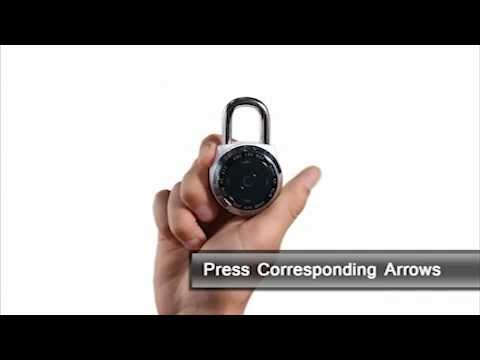 Master Lock 1500eDBX dialSpeed™ - How to Open