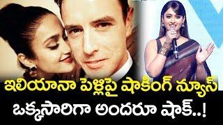 Ileana D'Cruz Marriage Latest News | Amar Akbar Anthony Movie | Ravi Teja | Srinu Vaitla | TTM