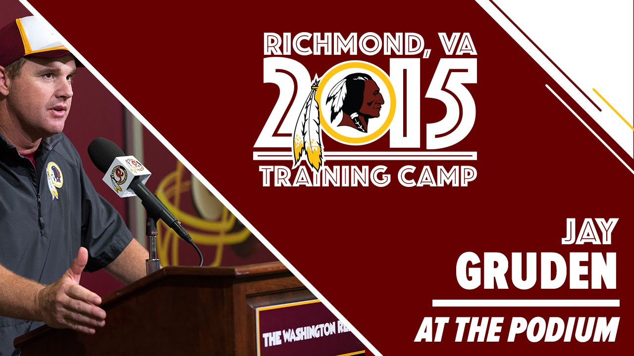 HC Gruden Training Camp Press Conference: 8/3/2015