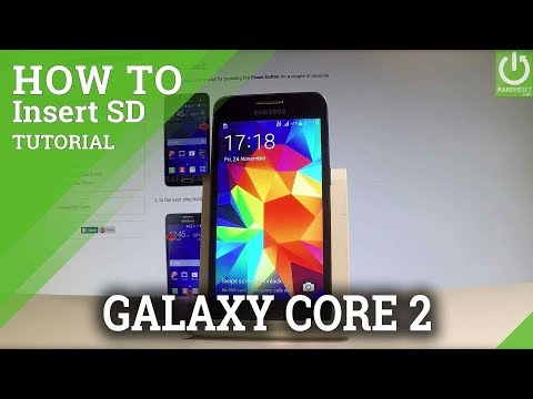 How to Insert SIM and SD on SAMSUNG Galaxy Core 2
