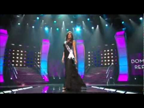 Dominican Republic - Preliminary Competition - Evening Gown - Miss Universe 2010 HQ 16:9