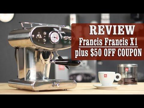 francis francis x1 trio espresso machine review