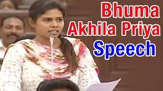 YCP MLA Bhuma Akhila Priya Speech in AP Assembly | HMTV