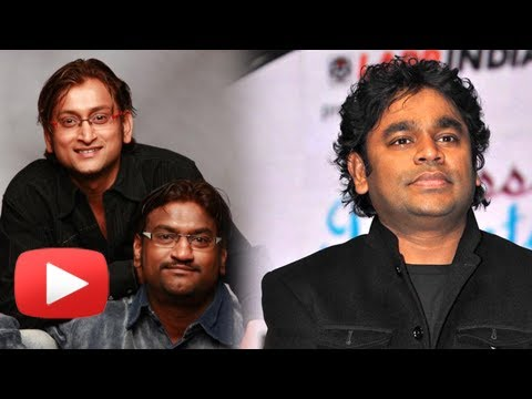 A.r.rahman Praises Ajay-atul For Apsara Aali Song From Natrang - Marathi Movie video