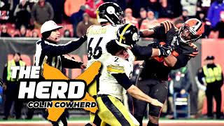 Colin Cowherd Reacts to Myles Garrett Suspension & Steelers-Browns Fight