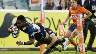 Brumbies vs Rebels Rd.10 2015 | Super Rugby Video Highlights