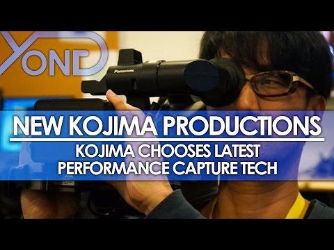 New Kojima Productions - Kojima Chooses Latest Performance Capture Technology