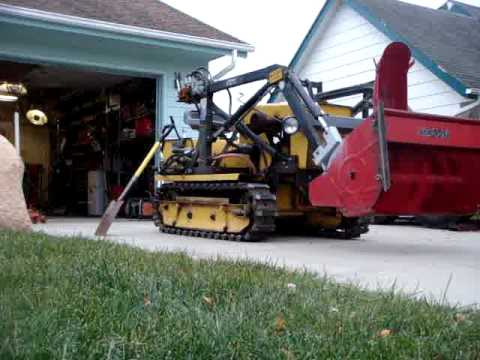 homemade snowblower #2