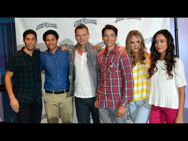 Power Rangers Super Megaforce Cast Q&A Session at Power Rangers Weekend Nickelodeon Suites Resort
