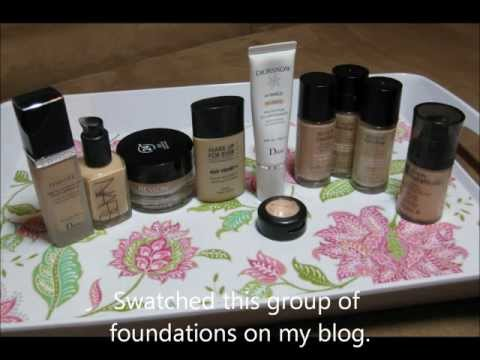 Revlon Colorstay Whipped Creme Foundation Sand Beige Comparison Swatches and UD Pencil Sin DUPE