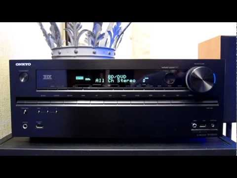 Onkyo TX-NR609 THX AV Amp - Hands-on detailed Review + Network Ready demo