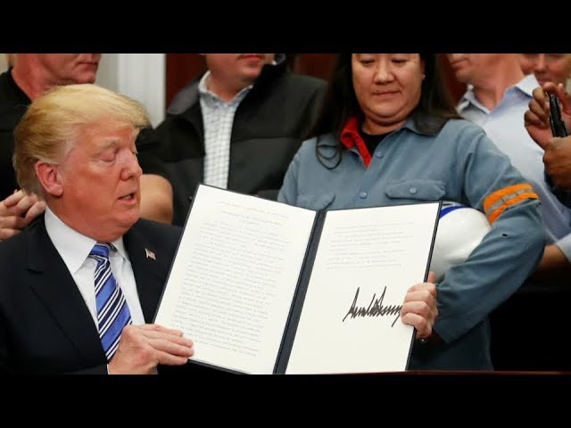 Asian governments warn against U.S. trade tariffs