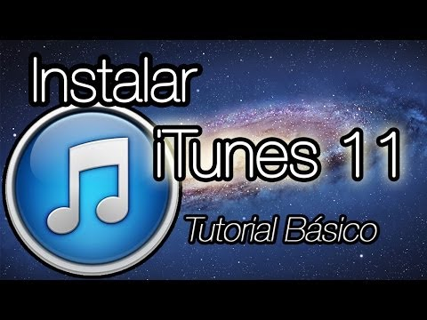 Instalar y configurar iTunes 11   Tutorial básico