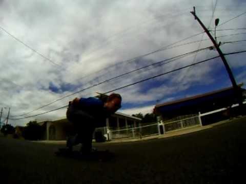 Guajataka Longboard Race Hill Puerto Rico FULL RUN
