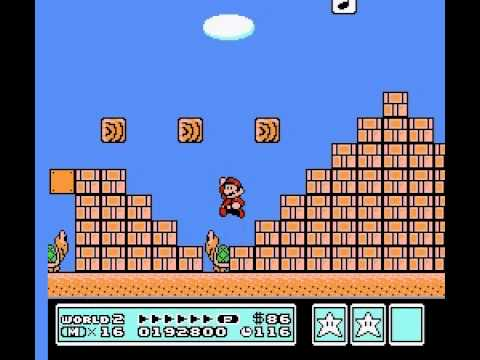 Super Mario Bros 3 - Vizzed.com GamePlay World 1 and 2 - User video