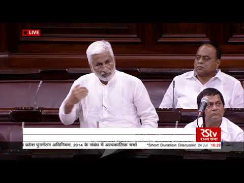 Sh. V Vijaysai Reddy's remarks|Short Duration Discussion on Andhra Pradesh Re-Organization Act, 2014