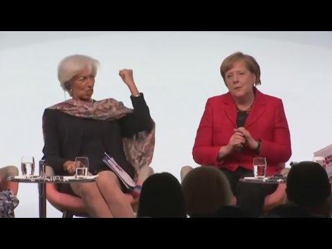 W20 Frauengipfel In Berlin: Merkel, Lagarde Und Ivanka Trump Diskutieren über Frauenrechte