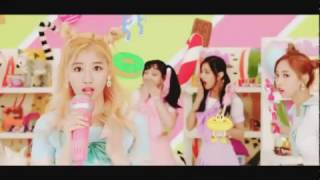 TWICE CHEER UP MV but every time they say Baby it speeds up