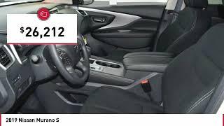 2019 Nissan Murano S New 19N0251