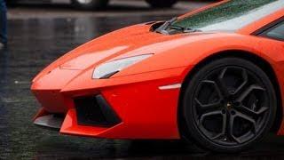 Lamborghini LP 700-4 Aventador vs Porsche 911 Turbo Switzer/Proto R911