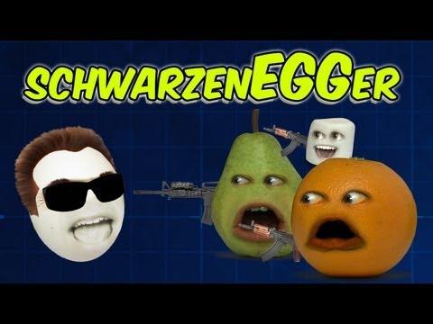 Annoying Orange - Arnold SchwarzenEGGer (Ft. Kevin Brueck)