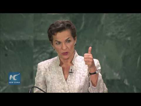 Christiana Figueres of Costa Rica highlights migration and refugees issues