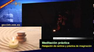 Meditación relajación centros e imaginación