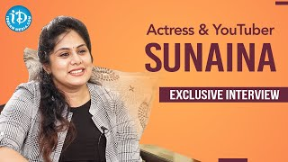 Ammoru & Oh Baby Fame Actress Sunaina Exclusive Interview | Dil Se With Anjali #218 | iDream Movies