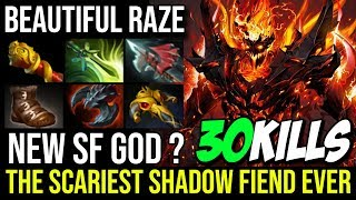 Incredible Shadowraze [Shadow Fiend] The Scariest SF Ever 30KIlls Perfect 100% Raze By Limmp Dota 2