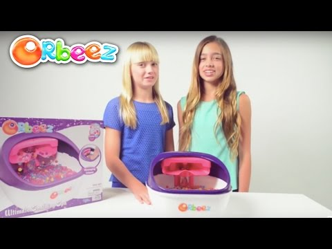 Orbeez Ultimate Soothing Spa Instructional Video with the Orbeez Girls