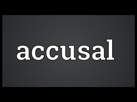 Header of accusal