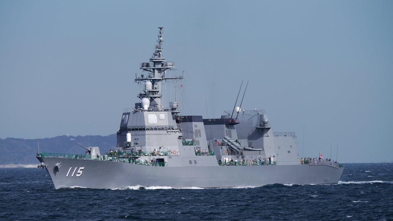 nanaah64d JMSDF FLEET REVIEW 2012 DD-115 あきづき...
