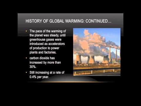Global Warming: A Harm to Mother Nature