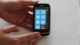 Nokia Lumia 610_ Obsah balen, design a operan systm (videopohled)