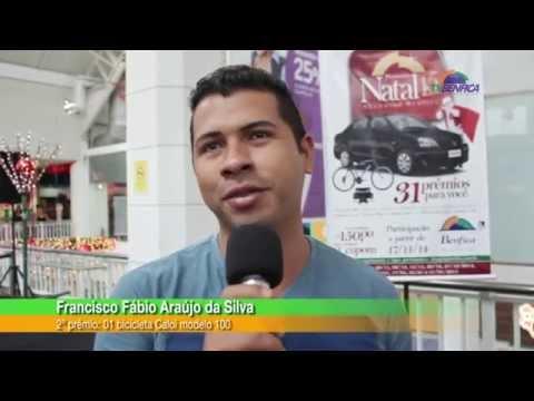"""2ª cerimônia de entrega dos prêmios da promoção """"Natal 15 Anos Shopping Benfica"""""""