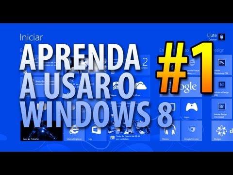 Aprenda a usar o novo Windows 8 #1 - Tela inicial