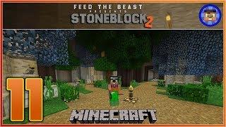 StoneBlock 2 Modpack Ep 11 - Base Makeover  - Modded Minecraft
