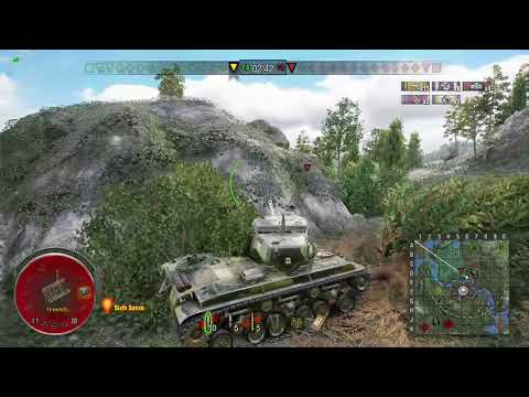 World of Tanks Console - T25/2 Swamp Encounter - Mastery Ace Tanker