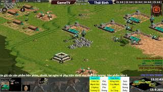 C1T1 | 4vs4 Random | GameTV vs Thái Bình | Ngày 14-04-2018