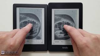 Kindle Paperwhite 4 vs $79 Kindle Comparison Review - 2018
