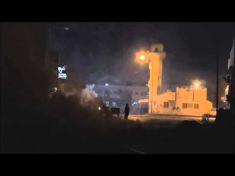 Bahrain : Riot Police Use 40MM Y2MK1 MGL Directly At Persons