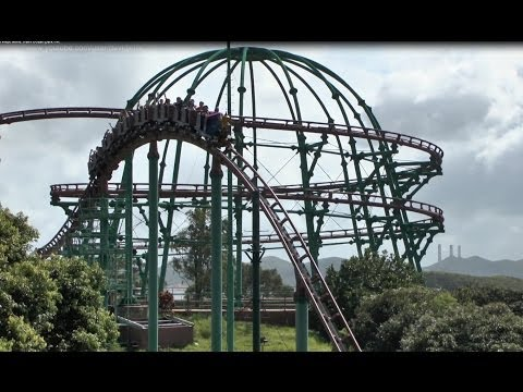 Wild West Mine Train - Ocean Park Hong Kong (incl POV)