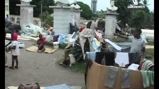Les réfugiés Congolais sans abris à Libreville.mp4
