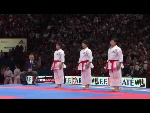 2012 World Senior Karate Championships - Live Afternoon Session Finals - 25 November Image 1